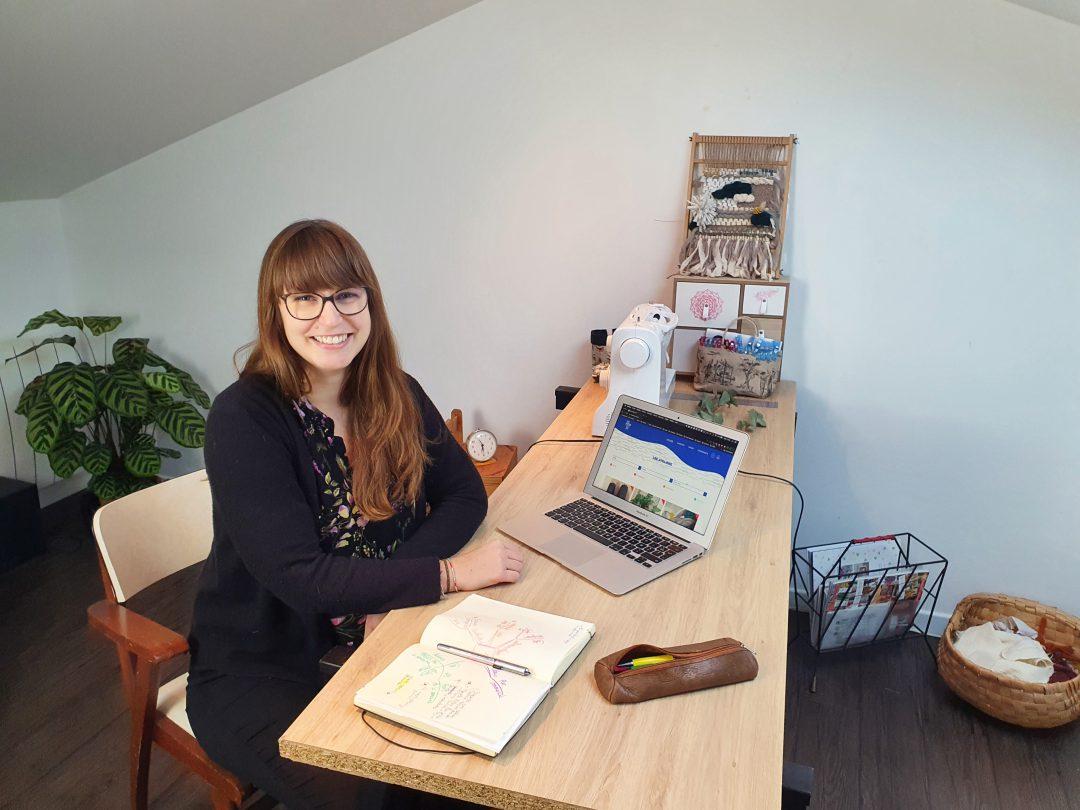 Sarah Delorme, fondatrice de Mes ateliers DIY