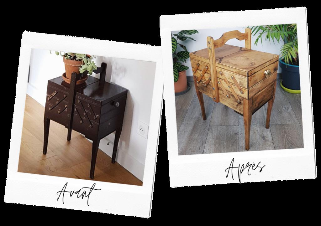 upcycling : customisation de meubles